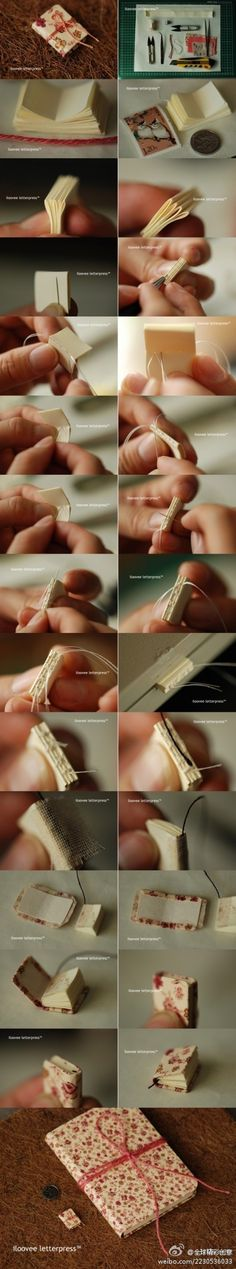 diy mini book