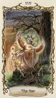 XVII - The Star (Phoenix) - Tarot Fantastic Creatures by DJ Conway & L . Creature Decks, Celtic Cross Tarot, Relationship Tarot, Star Tarot, Online Tarot, Tarot Major Arcana, Love Tarot, Oracle Tarot, Tarot Card Meanings