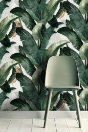 Haal de tropen in huis met behangwand Botany van Lemon
