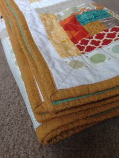 Baby Sam's Quilt by A Little Gray, via Flickr