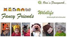 Fancy Friends Wildlife - Website von Vivi's Fancywork