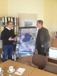 Markus Bauer im Gespräch zum Europa Radweg R1 (Website: www.markus-bauer.biz)