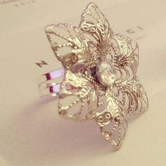 Anello in filigrana argento
