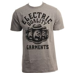 Electric Mens Shirt Sixer Heather Grey  #electricvisual #hansensurfboards  www.hansensurf.com