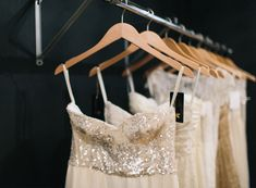 Sarah Seven | Rue big trend for this coming season - sequin top, strapless, flowing