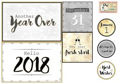 Happy New Year - Freebie In The Pocket Design
