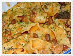 Tagliatelle com Feijão Manteiga – Recipes by Apok@lypsus Pasta Salad, Macaroni And Cheese, Ethnic Recipes, Food, Butter, Kitchen, Ideas, Ethnic Food, Crab Pasta Salad