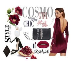 Romwe 3 by decor4 on Polyvore featuring polyvore, WithChic, Huda Beauty, Givenchy, Merola, fashion, style and clothing