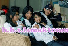 Futaim MRM, Maryam MRM, Shaikha MRM y Latifa MRM