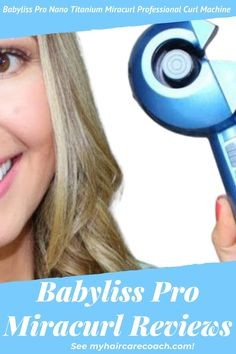 Among such important tools every lady needs is an effective curling tool like Babyliss pro miracurl. This tool is what you need to achieve those jealous curls that will certainly make you a standout. This tool is what we will be checking out in Babyliss Pro Miracurl Reviews. #BabylissPro #BabylissProCrulingIron #babylisspronanotitanium #babylissproflatiron #babylisspronanotitaniumCurls Curling Iron Tips, Curling Tools, Nano Titanium, Curling Iron Hairstyles, Coarse Hair, Perfect Curls, Flat Iron, Jealous, Lady