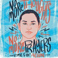Emma Gonzalez Hero- these kids are so inspiring!!!! #enoughisenough they really are our future. #nomorepain #nomoregunviolence #nomorefearinschools #kidsshouldbekids #inspiringwomen