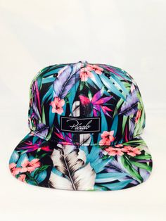NWT Brixton Navy Floral Cotton BROOKLYN Bucket Beach Hat Cap Urban Outfitters