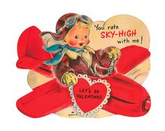 #free #printable #Valentine cute as can be :' you rate sky-high with me'