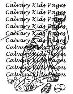 coloring pages achan s sin - 1000 images about calvary kids coloring pages on pinterest sunday school lessons coloring