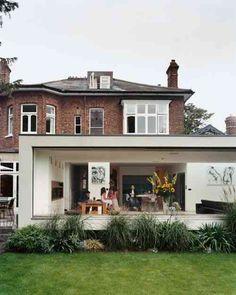 V randa alu toit plat extension maison pinterest for Extension maison 85