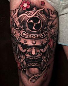 Koi Dragon Tattoo, Dragon Sleeve Tattoos, Dragon Tattoo Designs, Leg Tattoos, Body Art Tattoos, Samurai Tattoo Sleeve, Samurai Warrior Tattoo, Japanese Tattoo Art, Japanese Sleeve Tattoos