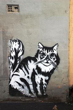 Melbourne street art, artist unknown