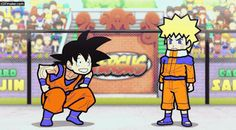 Goku Vs Naruto....Goku WINNNSS