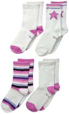 Sierra Socks Girls School Uniform Opaque Nylon Knee High 3 Pair Pack Socks 2027