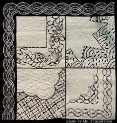 Traditions with a Celtic Twist by Anna Williams (New Zealand).  Photo by Quilt Inspiration.  2015 World Quilt show.