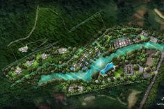 Natural Waterfalls, Hills Resort, In Plan, French Colonial, Other Space, Luang Prabang, Over The River, Hill Station, Fantasy World