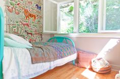 Cute room. Beatrice & Ramsey's Cultured Echo Park Casa House Tour | Apartment Therapy