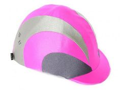 Pink/ Grey Sports Stripe Horse Riding Hat Cover Horse Riding Hats, Horse Show Clothes, Show Horses, Pink Grey, Equestrian, Pony, Cover, Sports, Pony Horse