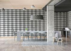 Boro hotel interior influenced by Seville and Copenhagen