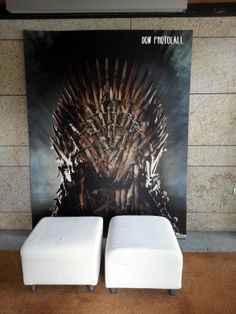 Juego de tronos Game of thrones. #backdrop #photobooth #photocall