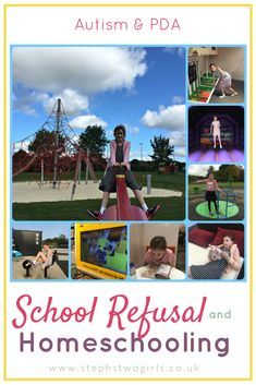 How Pathological Demand Avoidance (PDA) has meant we've had to start homeschooling our daughter as she is refusing school... #autism #PDA #SEND #SENDBlogs