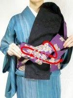 半幅帯の結び方!着物に合う、お太鼓より簡単な「角だし」 [着物・着付け] All About Heart Origami, Kimono, Dressing, Japan, Clothes, Beautiful, Outfits, Clothing, Japanese Dishes
