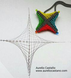 String Art in Beads!!!