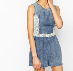 efae0ff1d5a3 10 Cute and Easy Denim Rompers to Wear This Summer