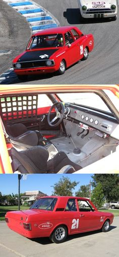 1967 Ford Cortina GT Vintage Racer