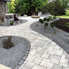 Backyard paver designs paver patio designs and ideas patios patio design . Design Patio, Backyard Patio Designs, Backyard Ideas, Garden Design, Front Patio Ideas, Garden Ideas, Back Yard Paver Ideas, Patio Border Ideas, Landscaping Tips