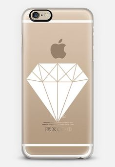 Diamond Case White by I Love Printable | @casetify