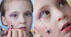 Resultado de imagem para desenho no rosto infantil