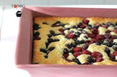 Starbooks: COCONUT-LIME-BERRY CAKE - TORTA AL LIME, COCCO E FRUTTI DI BOSCO