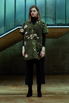 A look from Marimekko's fall 2016 collection. Marimekko, Creative Director, Fall 2016, That Look, How To Make, How To Wear, Product Launch, High Neck Dress, Style Inspiration