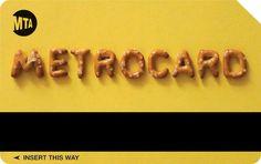 The Metrocard Project by Melanie Chernock, via Behance