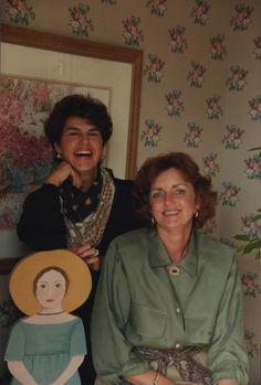 A look back: Vera Bradley Co-founders Barbara Bradley Baekgaard and Patricia Miller