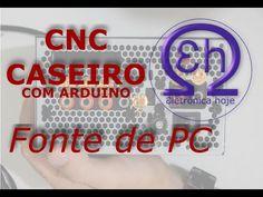 Fonte ATX + Booster para CNC