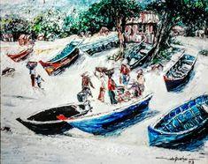 2003 JUAL HASIL TANGKAPAN, by artist Daniel (aka Niel) de Quelyu (Surabaya, Indonesia)