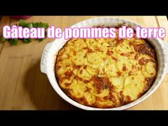 Gâteau de pommes de terre au fromage 🥔🧀 - YouTube Creme Fraiche, Vegan Vegetarian, Macaroni And Cheese, Ethnic Recipes, Daughter, Food, Colours, Pretty, Youtube