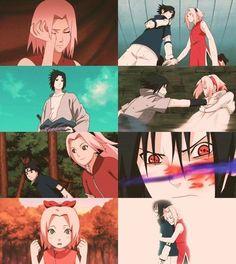 Sasuke x Sakura. #sasusaku #naruto