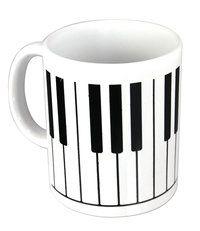 Tasse Klavier ♫♪ ☕ www.musiker-geschenke.com/Tassen