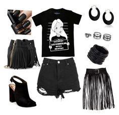 """""""outfit Alice"""" by alexia7528 on Polyvore featuring Disney, Steve Madden, Whistles, Saachi, Lulu*s and Bling Jewelry"""