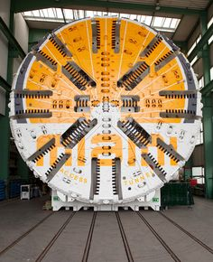 "Port of Miami Tunnel - Tunnel Boring Machine named ""Harriet"""