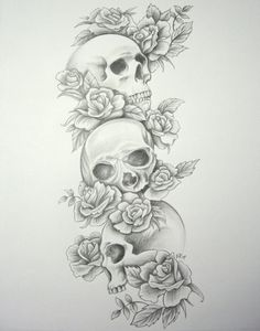 6ym73t.jpg 900×1,145 pixels I would have different animal skulls and a human skull at the base going all down my spine.