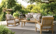 When you plan to invest in patio furniture you want to find some that speaks to you and that will last for awhile. Although teak patio furniture may be expensive its innate weather resistant qualit… Teak Rocking Chair, Patio Rocking Chairs, Patio Chairs, Eames Chairs, Room Chairs, Swivel Chair, Adirondack Chairs, Office Chairs, Dining Chairs
